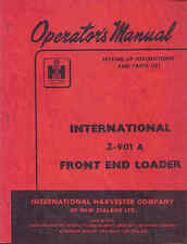 IHC Z-901A Front End Loader operators manual original