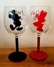 Character Wine Glasses Personalised, Disney, Pixar Etc