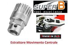 """4224 - Estrattore Movimento Centrale """"SuperB"""" per Bici 26-28 Fixed Scatto Fisso"""