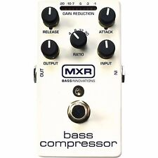 MXR M87 BASS COMPRESSOR ELECTRIC BASS GUITAR EFFECTS PEDAL