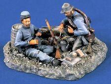 Verlinden 1/35 Bivouac Encampment Site Vignette Base Civil War (2 Figures) 1310