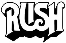 RUSH (GROUP) VINYL DECAL STICKER FOR CAR LAPTOP ETC.