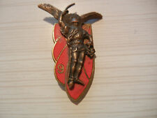 ALGERIE    9°RCP    Arthus  R de Rennes, G.1366,  dos vaguelé, émaux grands feux