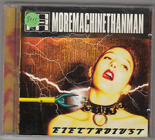 MORE MACHINE THAN MAN - electrolust CD