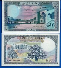 Lebanon P-66 100 Livres Year 1988  Uncirculated Banknote