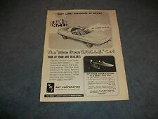 """1967 AMT """"Man from U.N.C.L.E."""" Vintage Ad """"Hot Line Channel is Open"""""""