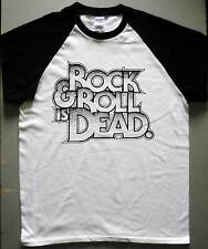 THE HELLACOPTERS RnR Is dead Basebal T-shirt Turbonegro Imperial State Electrics