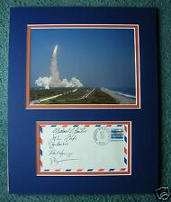 STS-29 FULLY CREW SIGNED SPACE SHUTTLE DISPLAY - UACC RD - NASA ASTRONAUTS