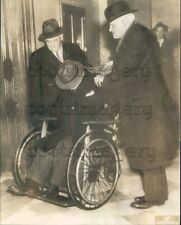 1936 Tuberculosis Stricken Gangster Tommy Touhy in Wheelchair Press Photo