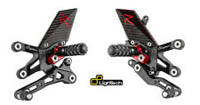 PEDANE ARRETRATE REGOLABILI LIGHTECH R VERSION CARBON DUCATI PANIGALE 1299