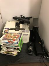 Xbox 360 250GB Kinect Special Edition Console Bundle Lot Games