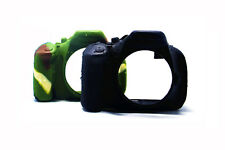 Camo Silicone Armor Skin Body Camera Case Cover Bag for Nikon D5100 D5200 DSLR