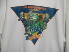 "ARMY NAVY GAME ""Heisman Winners"" SIZE XL LONG LEEVED WHITE  SWEATSHIRT"