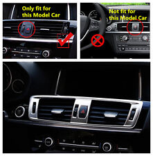 Middle Console Air Condition Vent Outlet Cover Trim For BMW X3 F25 2011-2015