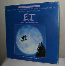 E.T. The Extra Terrestial 'Special Cassette Edition' Narrated by Michael Jackson