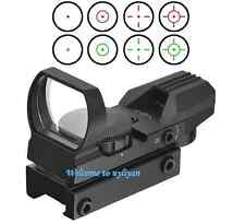 1x22x33 Holographic Red/Green Dot Sight Scope For Gun Airsoft Pistol Optical