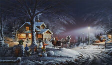Winter Wonderland By Terry Redlin Encore Print 18 x 10.5