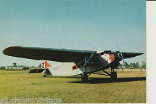 Postcard 54 - Plane/Aviation Ford Tri-Motor 1928 U.S.A. (not 100%)