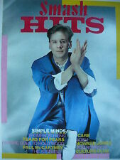 SMASH HITS 24/11/83 - SIMPLE MINDS - ADAM ANT - TEARS FOR FEARS