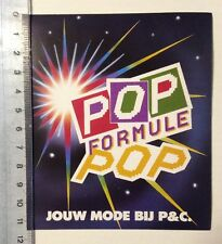Aufkleber/Sticker: POP Formule POP - Jouw Mode Bij P&C. (03031676)