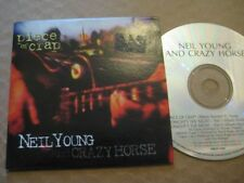 NEIL YOUNG & CRAZY HORSE Piece Of Crap RARE AUSSIE CD SINGLE 1994 - CARD SLEEVE