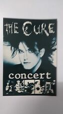 The Cure concert Robert Smith vintage music postcard POST CARD