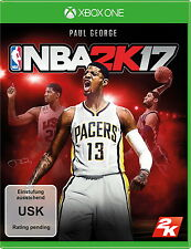 NBA 2K17 inkl. Early Tip-Off Bonus OVP (Microsoft Xbox One / One S)