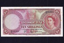 Fiji  10 Shillings 1964   P-52d  EF