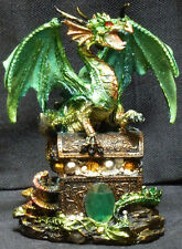 GREEN PROTECTION Dragon on Chest  H6""