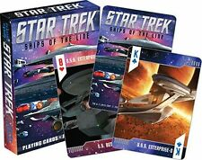 STAR TREK - SHIPS OF THE LINE - PLAYING CARDS - 52 CARD DECK - BRAND NEW - 52338