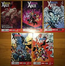 Amazing X-Men lot 8, 9, 10, 11, 12 NM