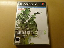 PS2 GAME / METAL GEAR SOLID 3: SNAKE EATER (PLAYSTATION 2)