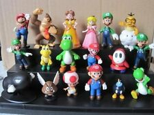 "18pcs Set 1-3"" Super Mario Bros Figure Toy Doll Pvc Figure Collectors By sanlise"