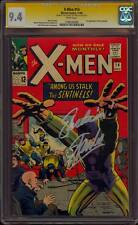 "X-MEN 14 CGC 9.4 SS STAN ""THE MAN"" LEE QUOTE ""EXCELSIOR!"" 1ST APP SENTINELS MINT"