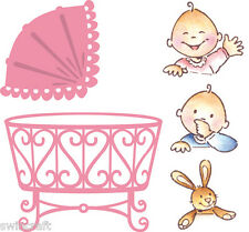 Marianne COLLECTABLES Die Cutting Stencil /Stamps ELINES BABY COL1313