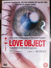 Desmond Harrington AMOUR OBJECT 2003 Culte Sex Poupée Obsession Horreur