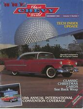 Classic Chevy World 1984 December Volume 11 Number 1 1955 1956 1957 Chevrolet