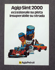G019-Advertising Pubblicità-1983 - AGIP PERTOLI SINT 2000