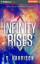 The Infinity Trilogy: Infinity Rises 2 by S. Harrison (2016, CD, Unabridged)