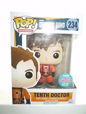 Doctor who pop! vinyl 10th dr en orange combinaison spatiale figure 234 new york comic com
