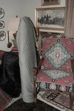 GORGEOUS-DIAMOND QUILTED GREY VELVET UPHOLSTERY AND DRAPERY FABRIC!