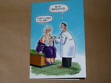 Adult birthday card 1183 - old lady / girlie humour