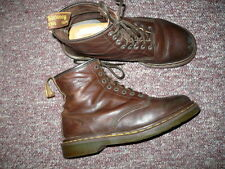 Women's Brown Leather ankle Boots DR MARTENS 1460 Sz 10, cute, made in England