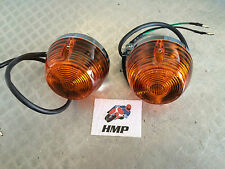 HONDA CB400 F2 PAIR OF QUALITY CHROMED METAL INDICATORS NEW