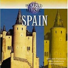 WORLD OF MUSIC ~ SPAIN ~ Folk & Flamenco ~ CD Album ~ EC!