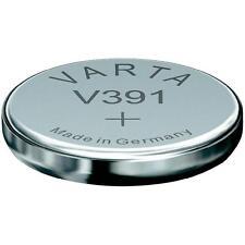 1 pile de montre oxyde d'argent 391/381, SR1120W VARTA, 1,55V