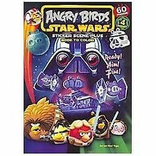 Angry Birds Star Wars: Sticker Scene Plus Book to Color