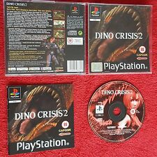 DINO CRISIS 2 ORIGINAL BLACK LABEL SONY PLAYSTATION PSONE PS1 PS2 PAL