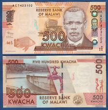 Malawi 500 Kwacha 2012 unc p. 61 a