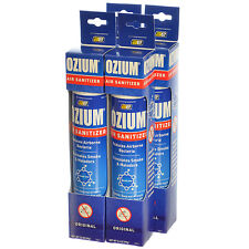 Ozium Smoke & Odor Eliminator Air Sanitizer / Freshener 3.5oz ORIGINAL - 4 PACK